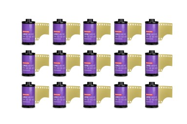 Lomography LomoChrome Purple XR 100-400 35mm Pack of 15