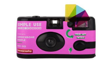 Simple Use Camera LomoChrome Purple