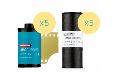 Lomography LomoChrome Turquoise XR 100-400 Mixed Formats 10 Rolls