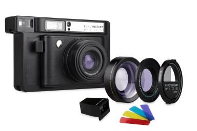 Lomo'Instant Wide Black + Lenses