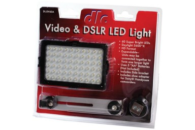 DV60A Video DSLR LED Light