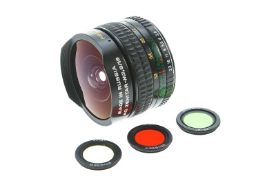 MC Zenitar M 2.8/16 Fisheye Lens K-type mount